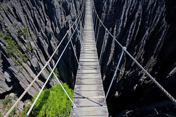 Национальный парк Мадагаскара - Цинги-де-Бемараха