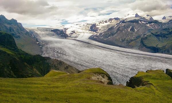 Ледник Ватнайёкюдль в Исландии