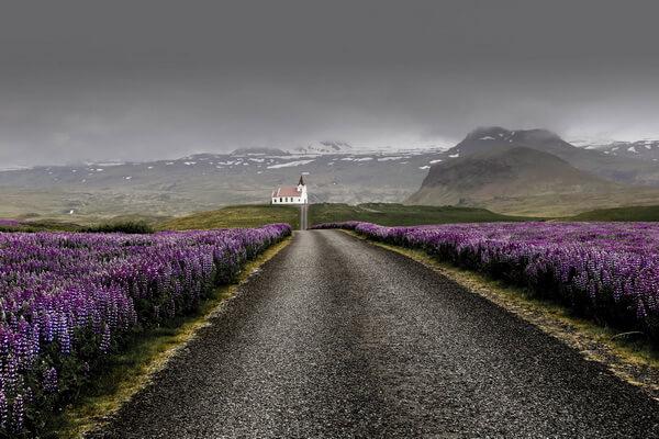 Лучшие веломаршруты Исландии с фото и описанием - Свалвогарская трасса