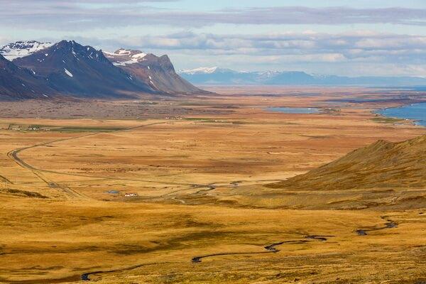 Лучшие веломаршруты Исландии с фото и описанием - Полуостров Снайфедльснес
