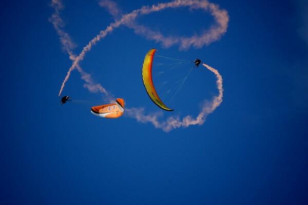Типы парапланов по назначению - Аэро - для воздушной акробатики