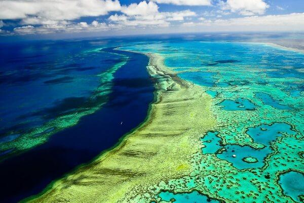 Виды коралловых рифов - Барьерные