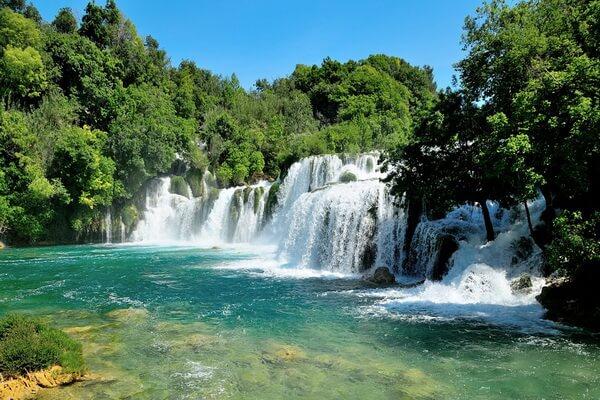 Водопады Хорватии с фото и описанием - Водопады парка Крка