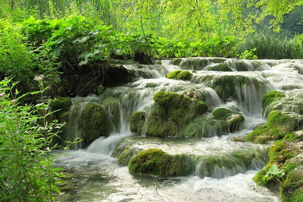 Водопады Хорватии с фото и описанием - Водопады Плитвицких озёр
