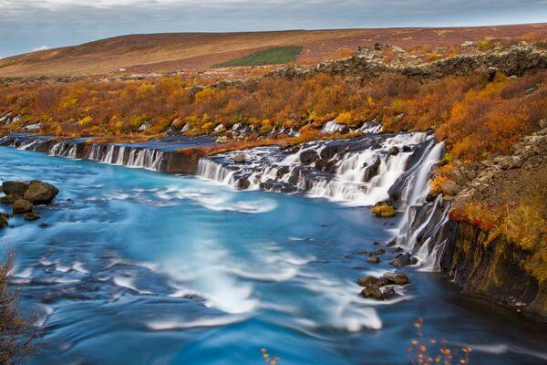 Красивейшие водопады Исландии с фото и описанием - Хрёйнфоссар