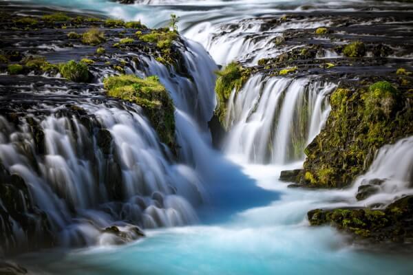 Красивейшие водопады Исландии с фото и описанием - Брюарфосс