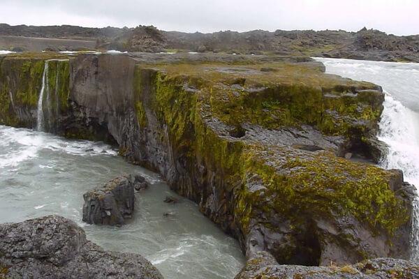 Красивейшие водопады Исландии с фото и описанием - Храфнабьяргафосс