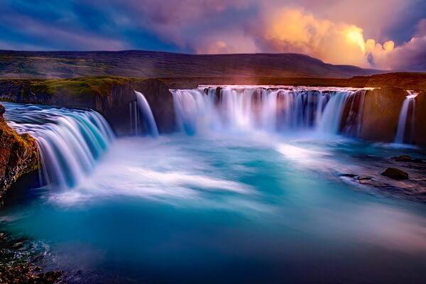 Красивейшие водопады Исландии с фото и описанием - Годафосс