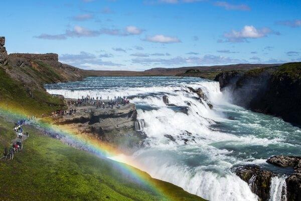 Красивейшие водопады Исландии с фото и описанием - Гюдльфосс