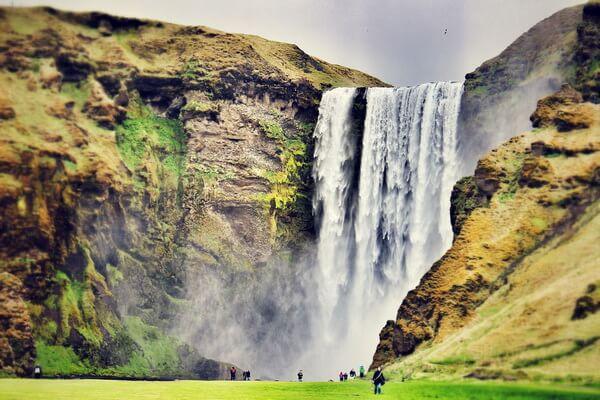 Красивейшие водопады Исландии с фото и описанием - Скоугафосс