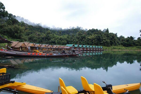 Самые красивые национальные парки - Кхао Сок, Таиланд
