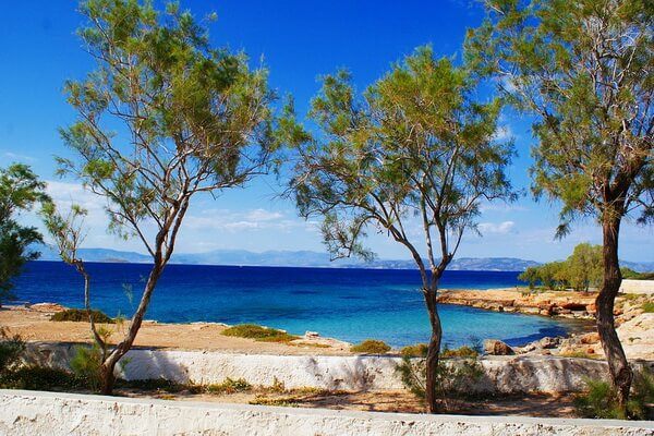 Яхтинг в Греции по Сароническому заливу - Остров Эгина