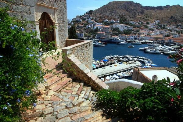 Яхтинг в Греции - Остров Идра