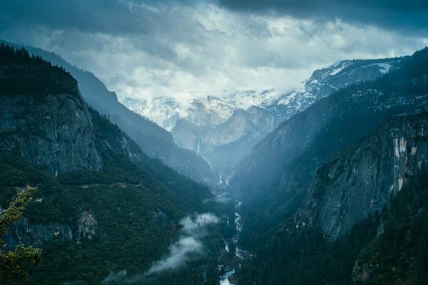 Парк Йосемити в США