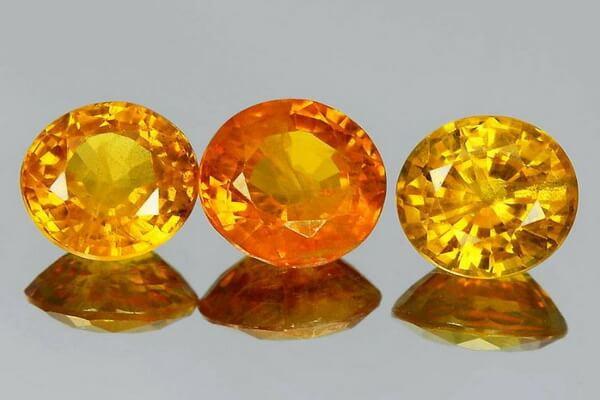 Драгоценные камни жёлтого цвета с фото и описанием - Жёлтый сапфир