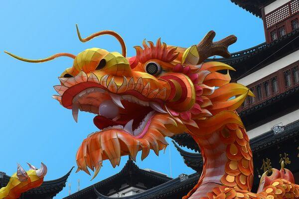Национальные животные Китая - Китайский дракон