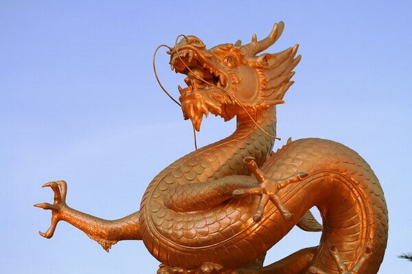 Животные-символы Китая - Китайский дракон